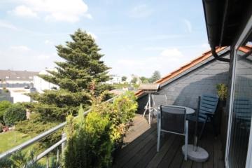 Für die kleine Familie ! Balkonwohnung in ruhiger und grüner Wohnlage, 45257 Essen, Dachgeschosswohnung